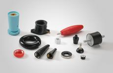 Rubber bonded metal products